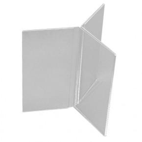 Трехсторонние менюхолдеры, трехсторонняя подставка под меню